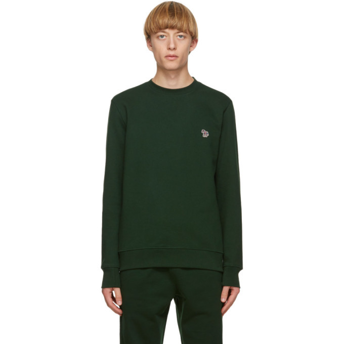 Photo: PS by Paul Smith Green Zebra Sweatshirt