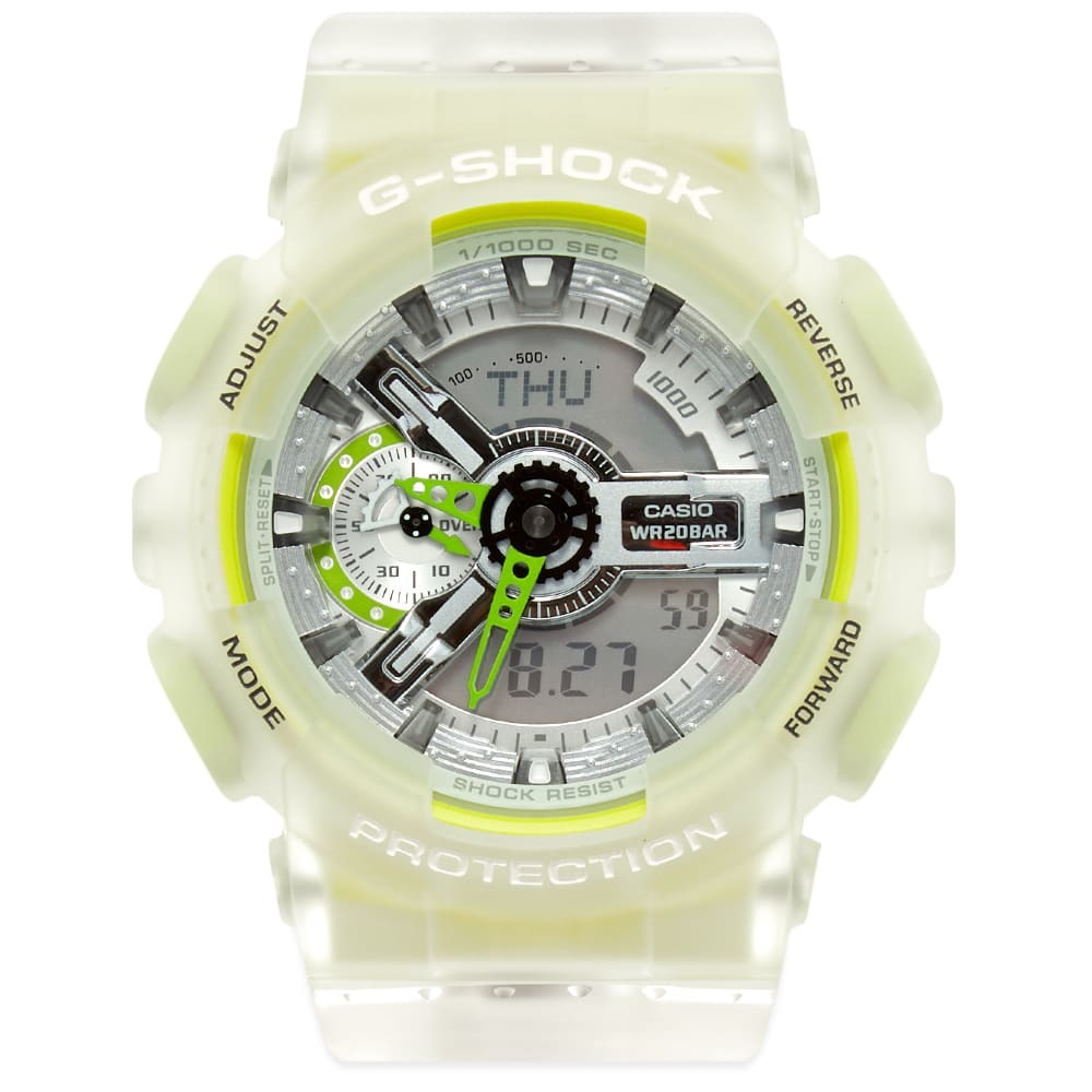 Photo: Casio G-Shock GA-110LS See-Thru Colour Pop Watch
