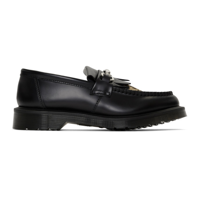 Photo: Dr. Martens Black and Tan Adrian Snaffle Loafers