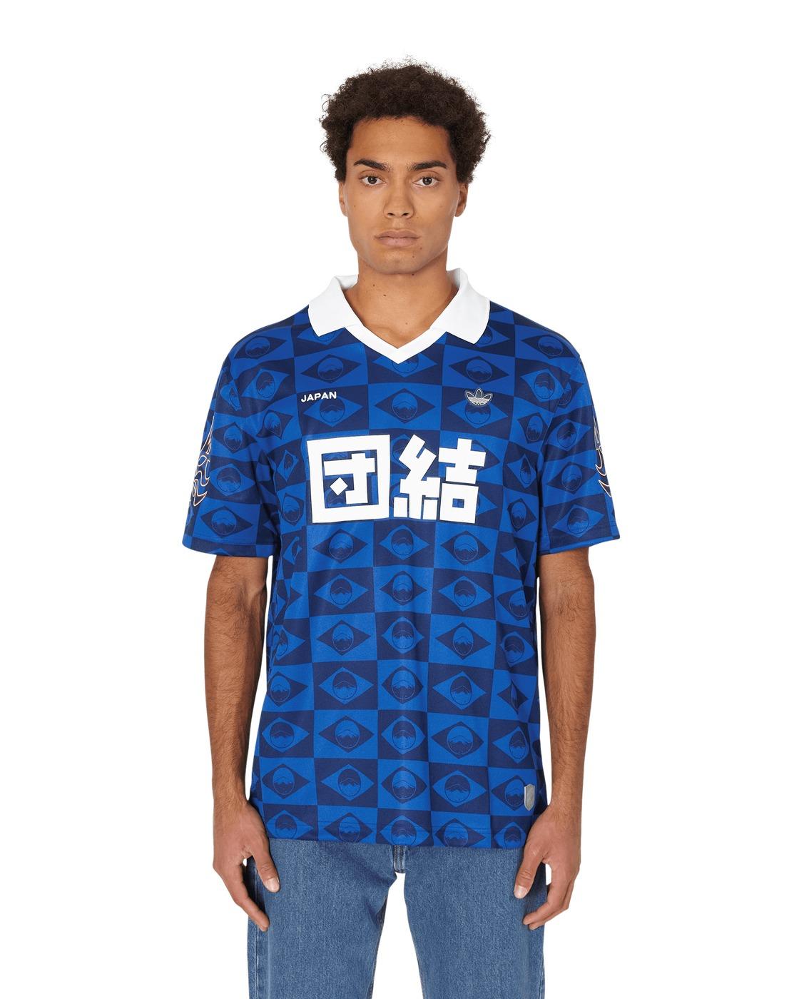 Adidas Originals Japan Jersey T Shirt Dark Blue