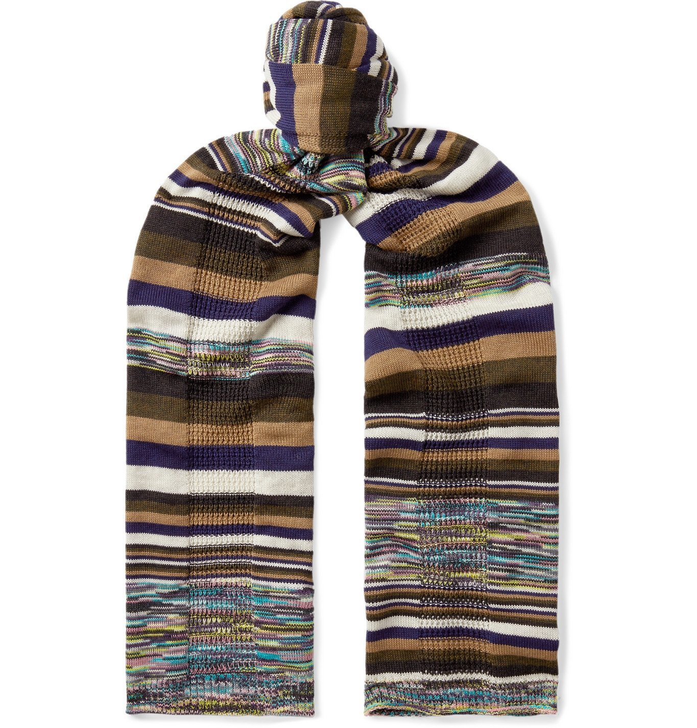 Photo: Missoni - Space-Dyed Wool Scarf - Multi