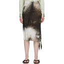 Acne Studios Multicolor Painting Skirt