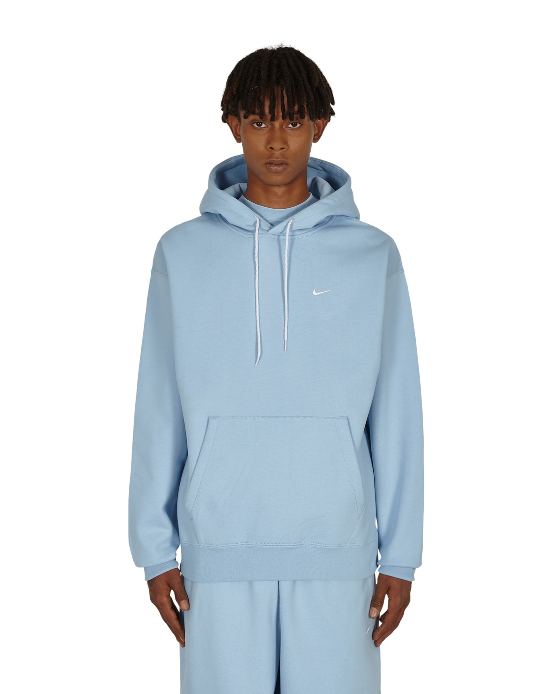 Nike Special Project Logo Hooded Sweatshirt Psychic Blue/White