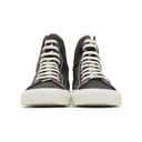 Common Projects Black Nubuck Tournament High Sneakers