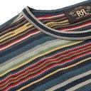 RRL - Slim-Fit Striped Cotton-Jacquard T-Shirt - Multi