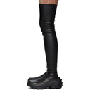 1017 ALYX 9SM Black Fixed Sole Thigh-High Boots