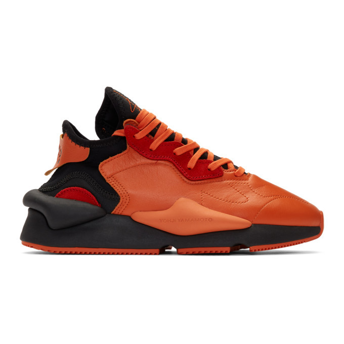 Photo: Y-3 Orange Kaiwa Sneakers