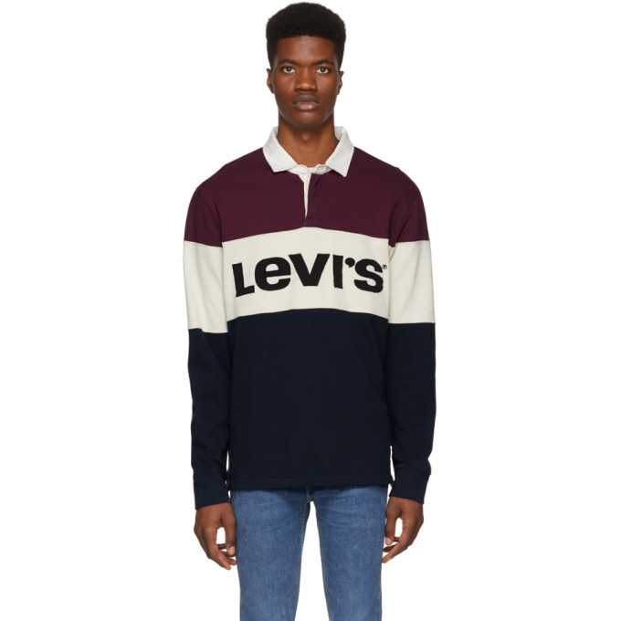 Photo: Levis Multicolor Mighty Made Rugby Polo