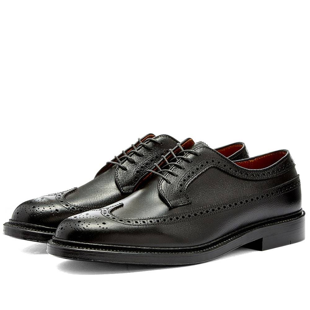 Photo: Alden Long Wing Blucher Black Alpine Grain