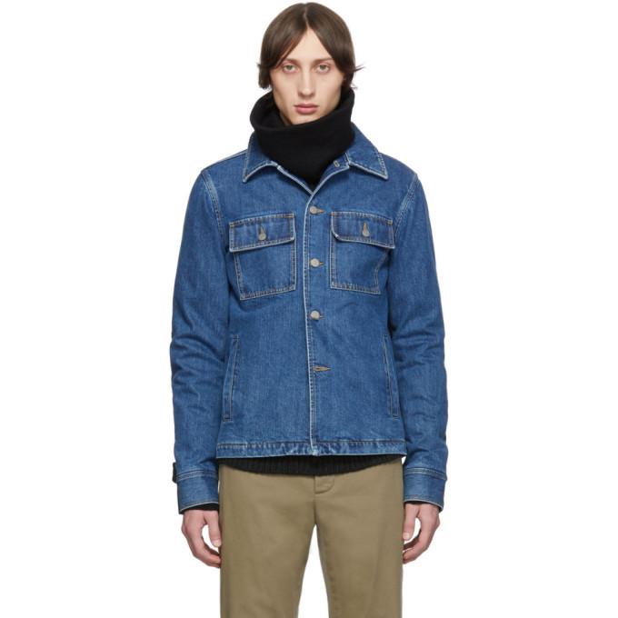 Photo: Maison Margiela Blue Double Cloth Jacket
