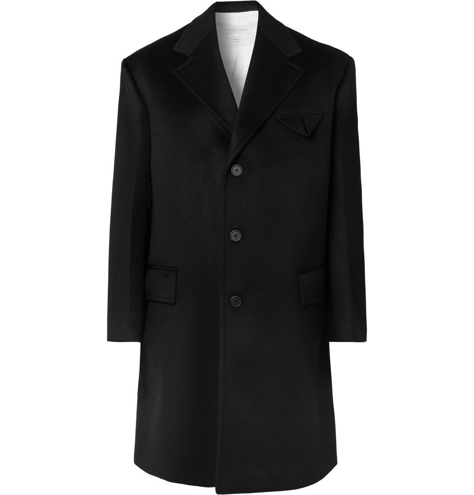 Photo: Bottega Veneta - Oversized Cashmere Coat - Black