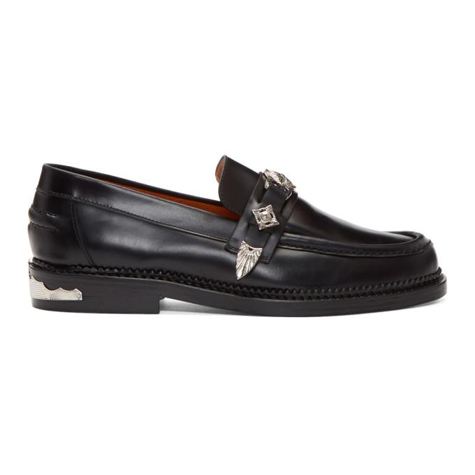 Photo: Toga Virilis Black Leather Loafers