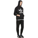 adidas Originals Black Trefoil Logo Hoodie