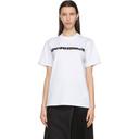 Sacai White Hank Willis Thomas Edition Graphic T-Shirt