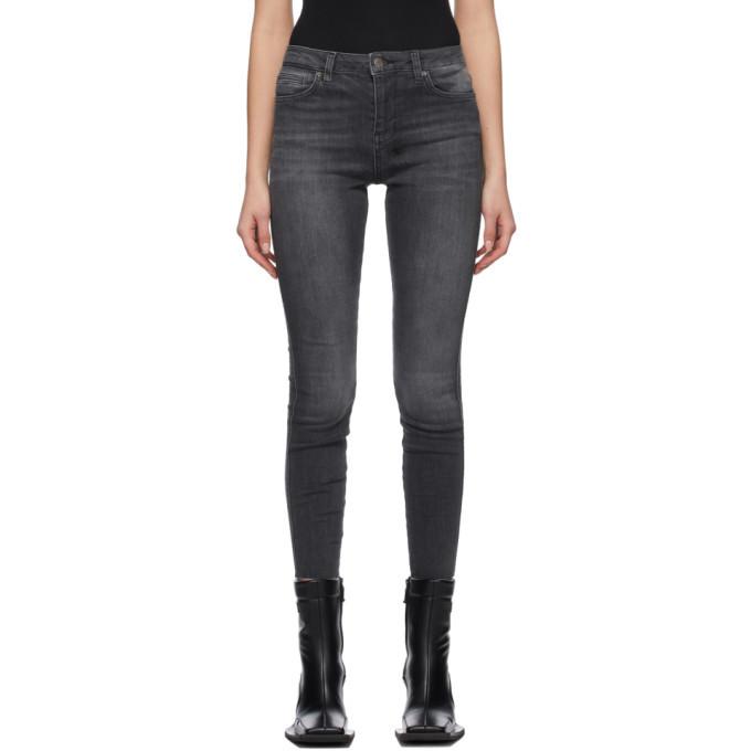 Photo: Ksubi Grey Spray On Jeans