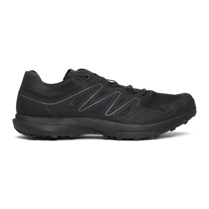 Photo: Salomon Black Limited Edition Sense Sprint ADV Sneakers