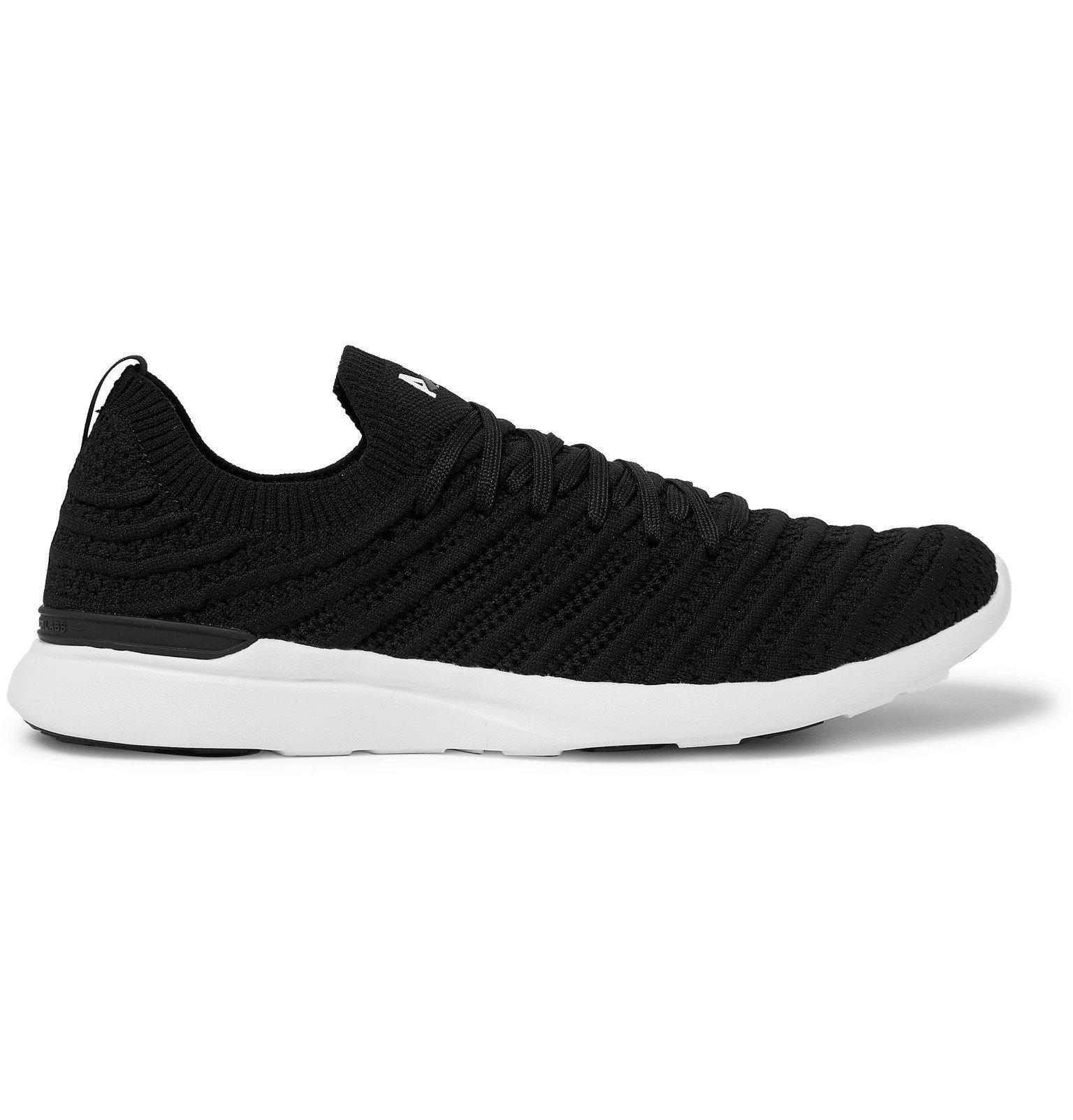 Photo: APL Athletic Propulsion Labs - TechLoom Wave Running Sneakers - Black