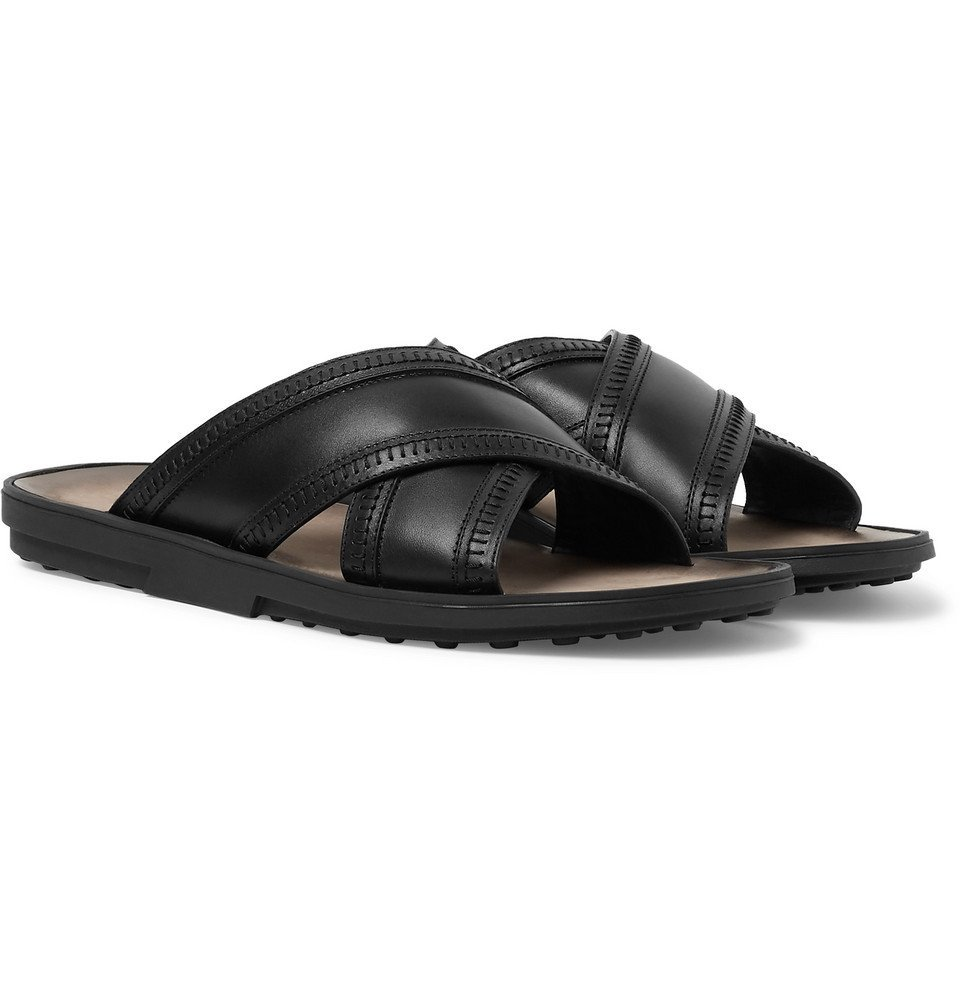 Tod's - Leather Sandals - Men - Black