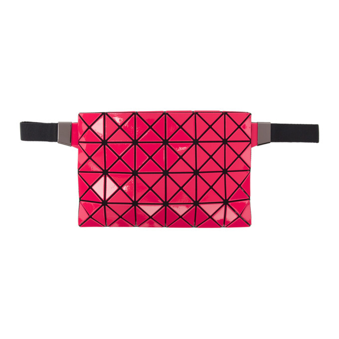 Photo: Bao Bao Issey Miyake Red and Black Waist Pouch