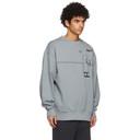 Acne Studios Grey Beni Bischof Edition MOTF Sweatshirt