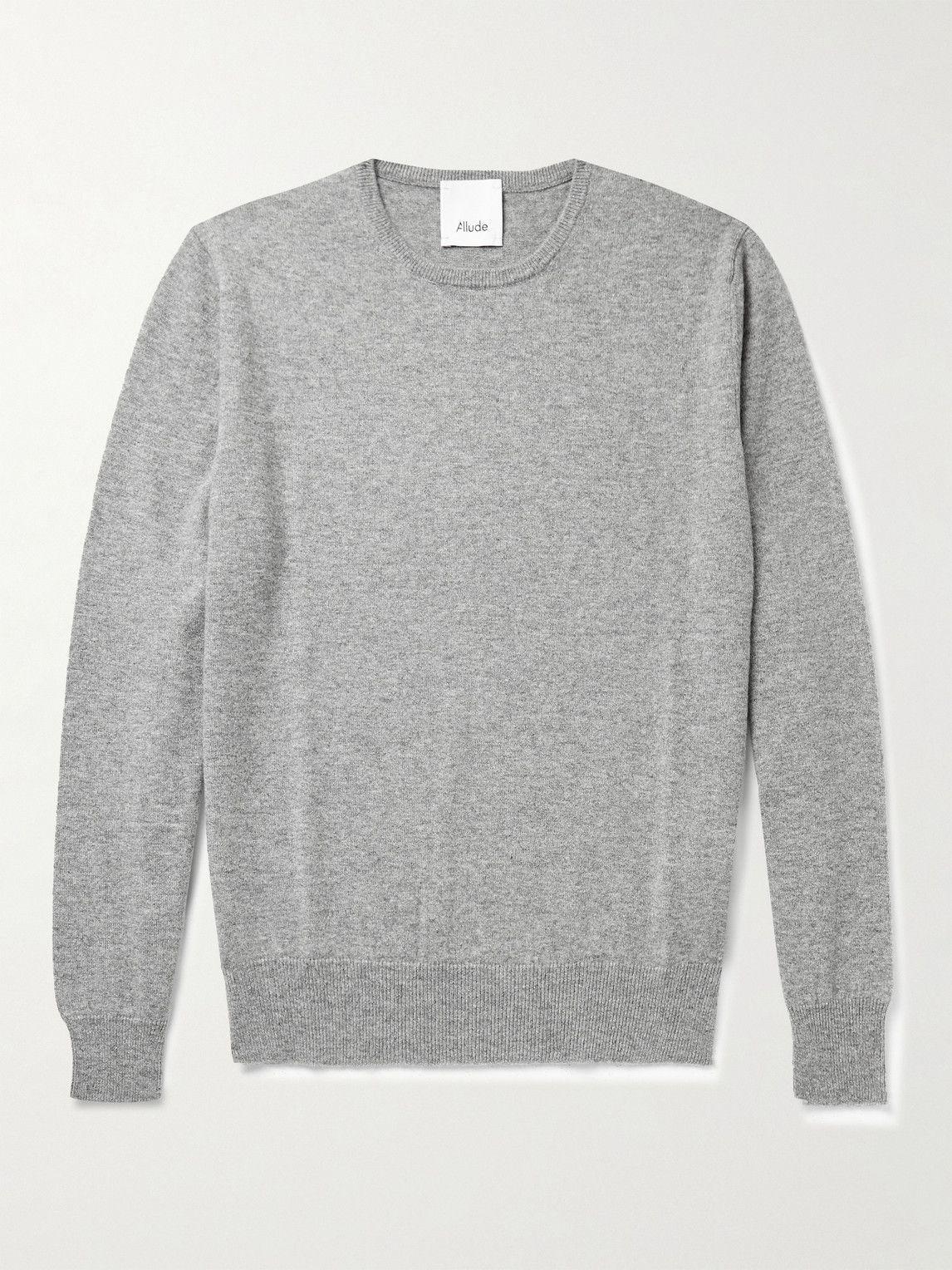 Photo: Allude - Cashmere Sweater - Gray