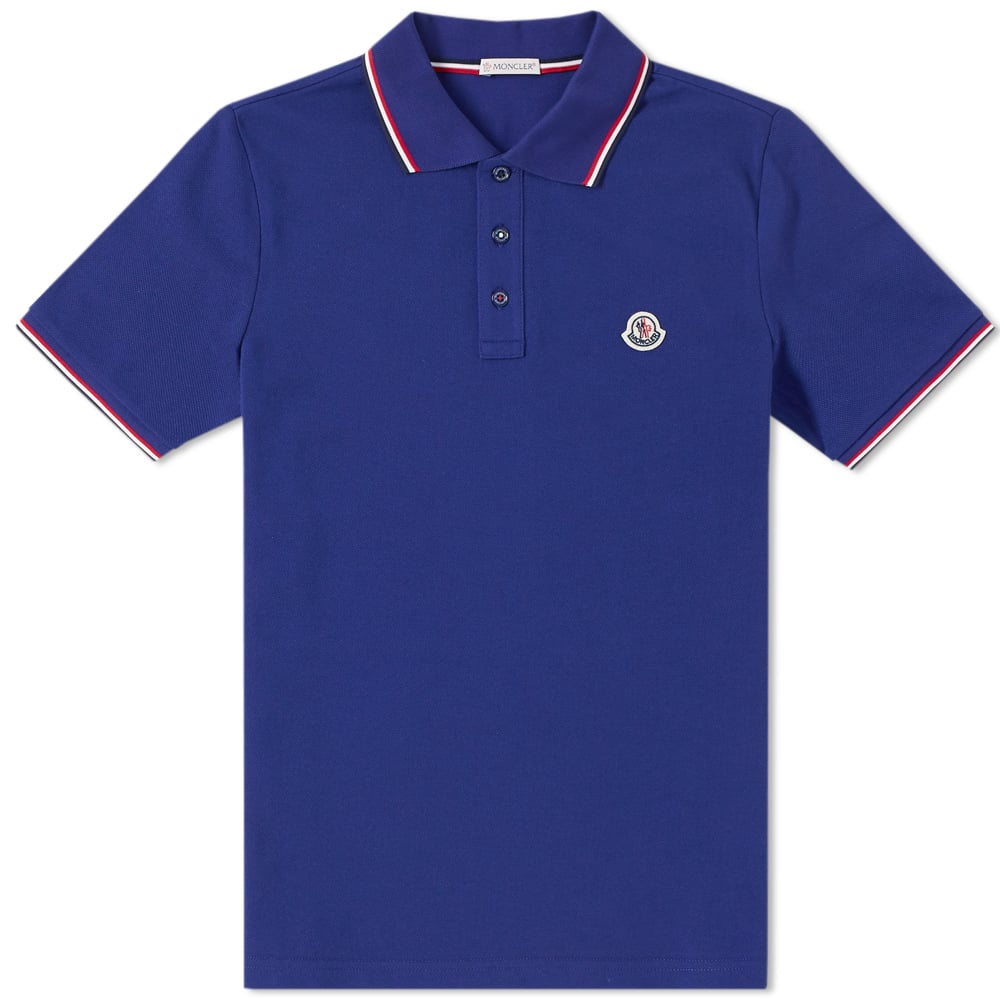 Photo: Moncler Classic Contrast Tipped Polo