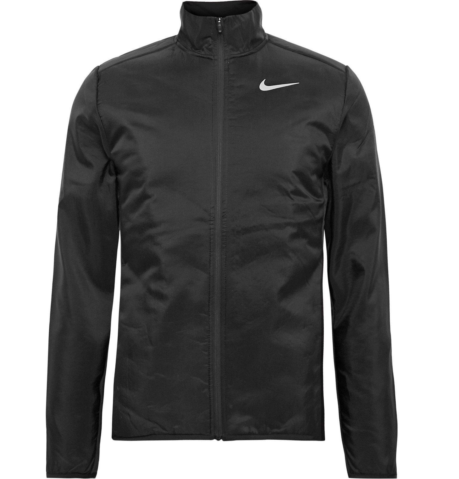 Nike Running - AeroLayer Nylon-Ripstop Padded Jacket - Black