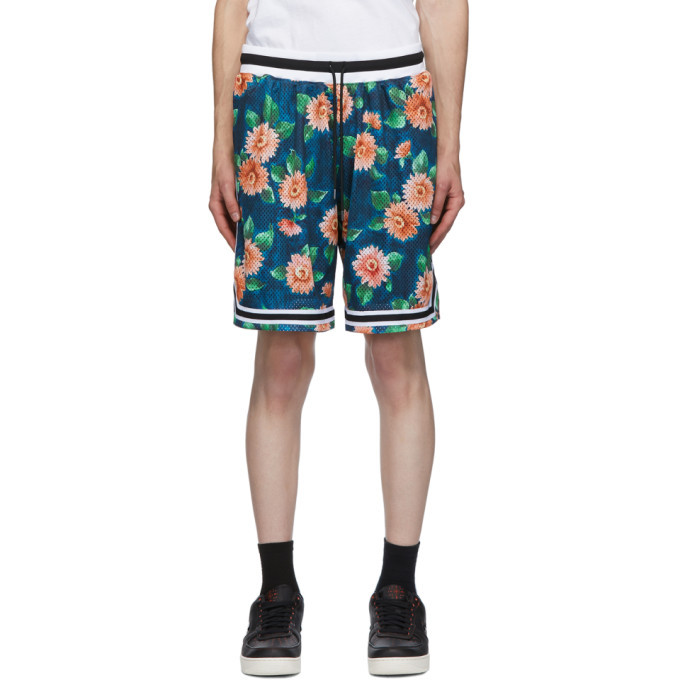 Photo: John Elliott Multicolor Floral Game Shorts