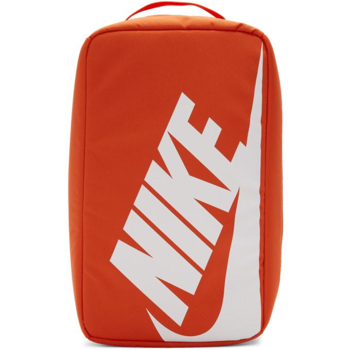 Photo: Nike Orange Nylon Shoe Box Bag