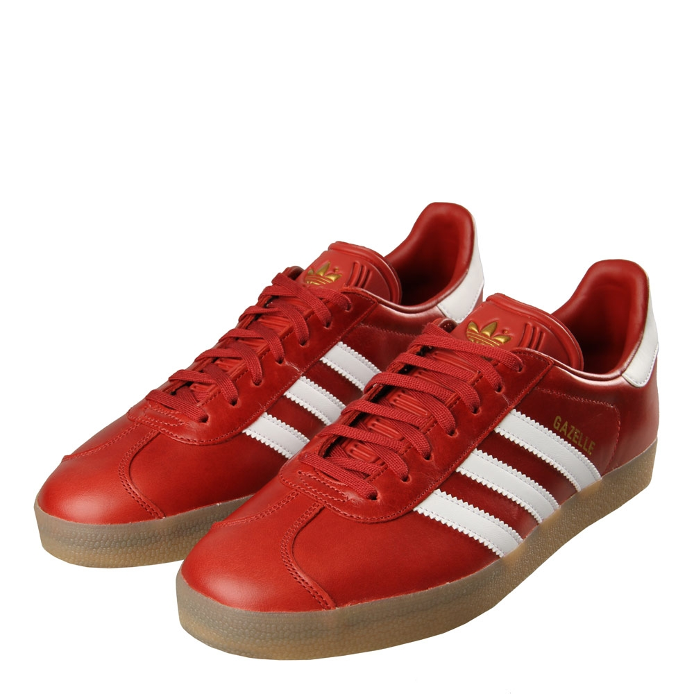 Gazelle Trainers - Red / Gold