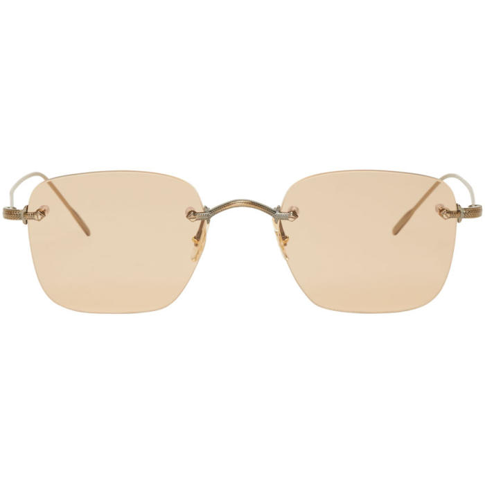 Oliver Peoples Brown Finne Sunglasses