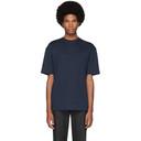 Sunspel Navy Relaxed Fit T-Shirt