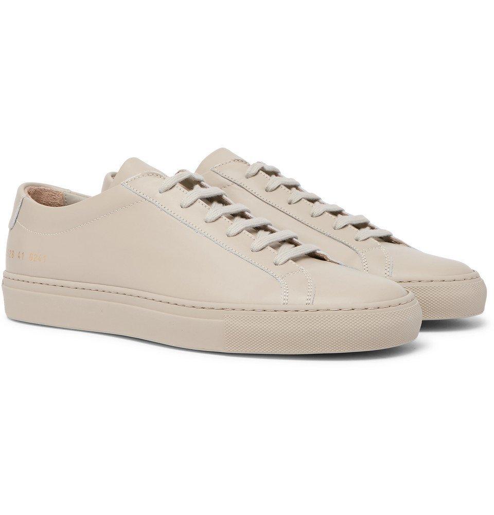 Common Projects - Original Achilles Leather Sneakers - Men - Neutral