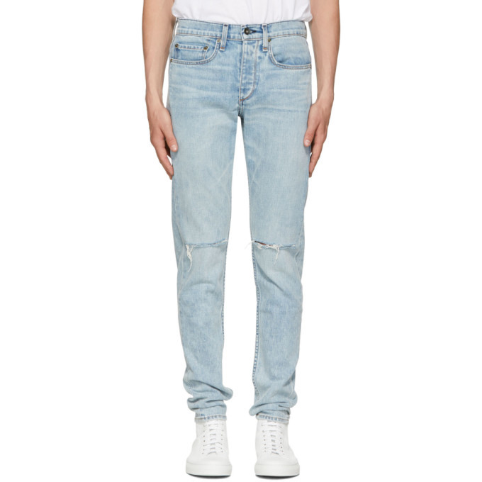 Photo: rag and bone Blue Standard Issue Fit 1 Jeans