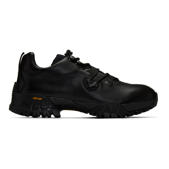 Photo: 1017 ALYX 9SM Black Low Hiking Sneakers
