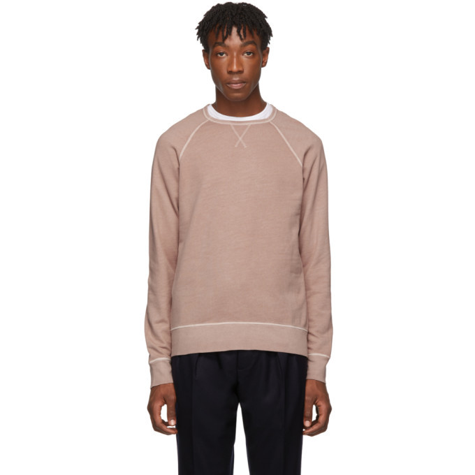 Photo: Officine Generale Pink Clement Sweatshirt