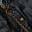 Belstaff - Trialmaster Belted Waxed-Cotton Jacket - Black