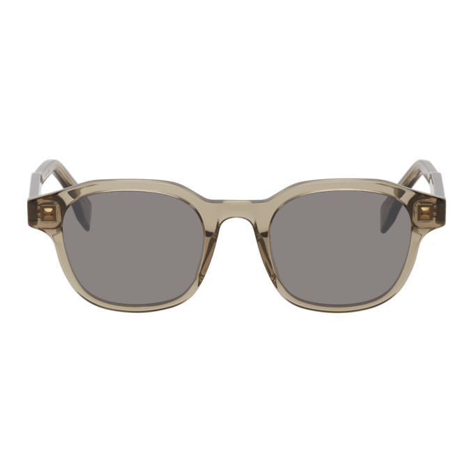 Photo: Fendi Taupe Square Sunglasses