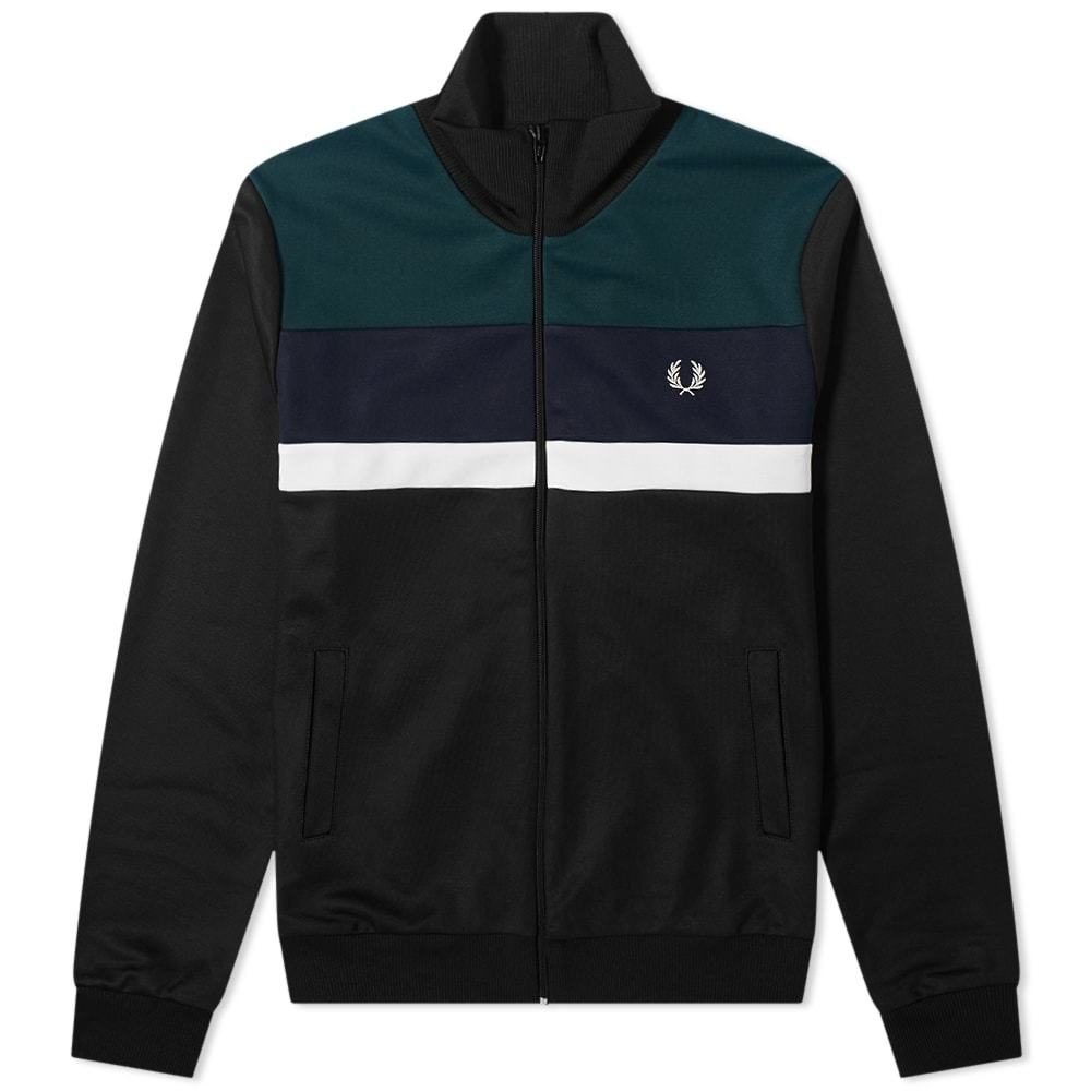 Photo: Fred Perry Authentic Colourblock Track Jacket
