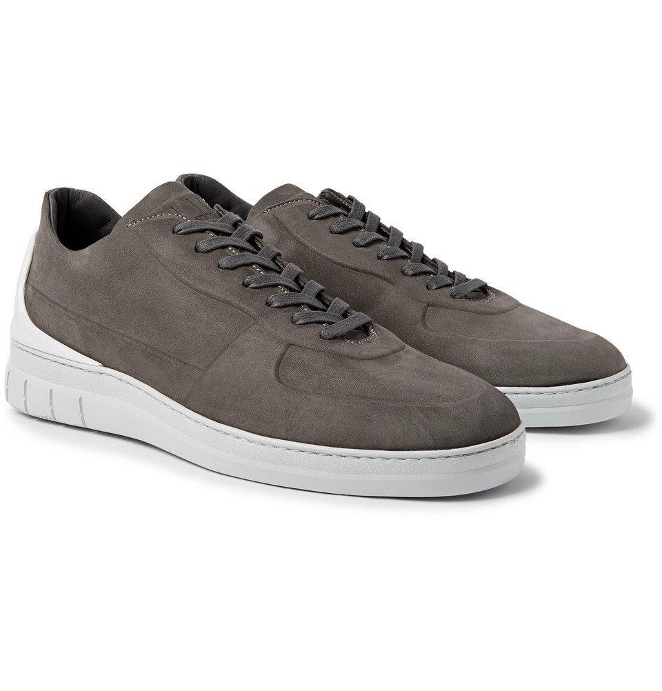 Dunhill - Nubuck Sneakers - Men - Brown