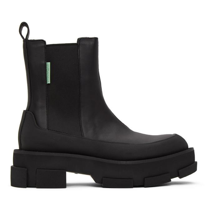 Photo: both Black Gao Chelsea Boots