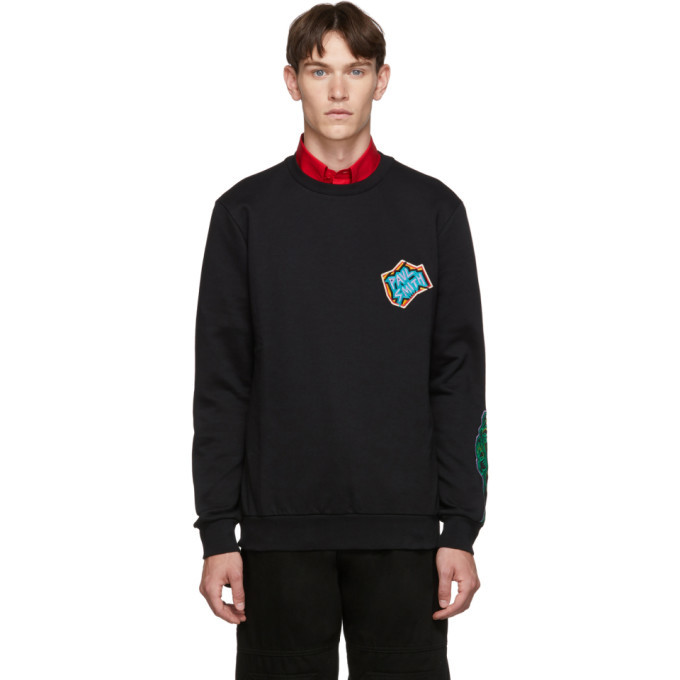 Photo: Paul Smith Black Artit Studio Badge Sweatshirt