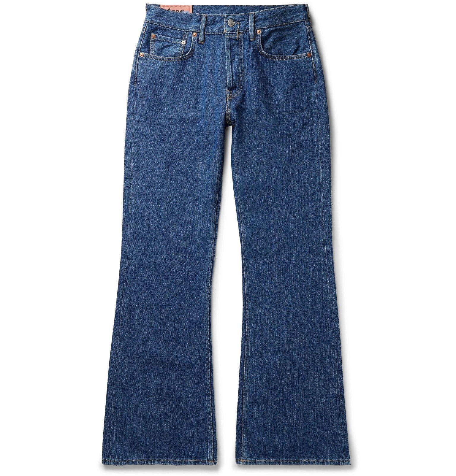 Photo: Acne Studios - Denim Bootcut Jeans - Blue