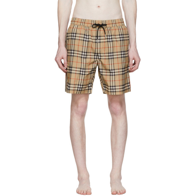 Photo: Burberry Beige Guildes Swim Shorts