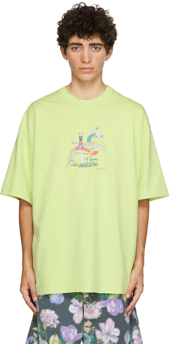 Photo: Martine Rose Green Oversized Mushroom Brittle T-Shirt