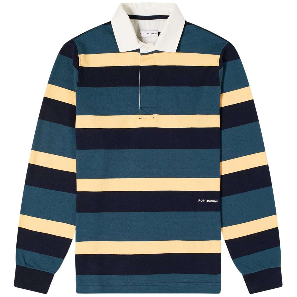 Photo: POP Trading Company Stripe Rugby Shirt