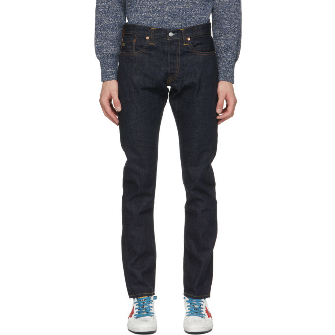 Photo: RRL Indigo Denim Slim Fit Jeans