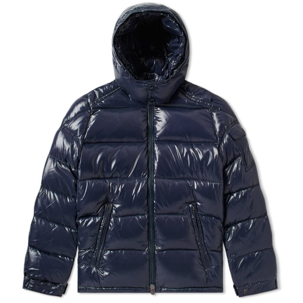 Photo: Moncler Maya Down Jacket Navy Blue