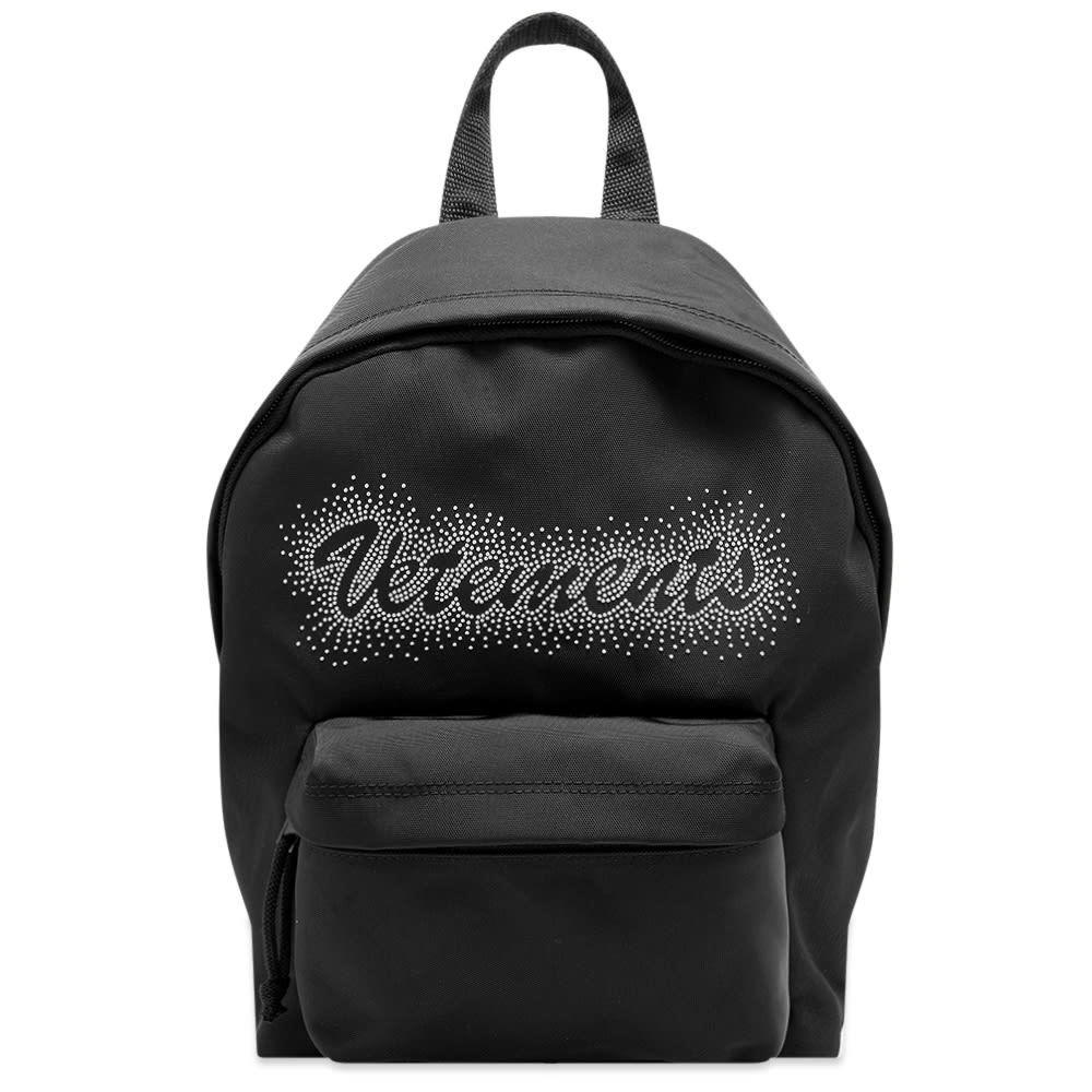Photo: VETEMENTS Small Studded Logo Backpack