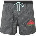 Nike Running - Flex Stride Logo-Print Ripstop-Panelled Dri-Fit Running Shorts - Black
